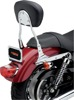 "Round 14"" Sissy Bar Chrome - For 00-06 Harley Softail"
