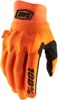 Cognito Motocross Gloves - Orange Short Cuff X-Large