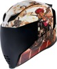 Airflite Full Face Helmet - Pleasuredome 3 Brown 2X-Large