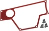 Dashplate Left Red 4Switch Large - For 15-19 Polaris RZR 900/1000