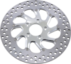 Torque Floating Front Right Brake Rotor 300mm Chrome