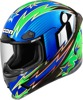 Airframe Pro Full Face Helmet - Warbird Blue Large