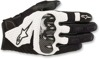 SMX1 Air V2 Motorcycle Gloves Black/White X-Large