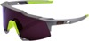 Speedcraft Sunglasses Gray/Yellow w/ Purple Lens