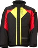 Men's Pivot 3 Insulated Snow Jacket Red/Hi-Viz Small