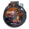 Orange Lines & S.S. Banjos Front Stainless Steel ATV Brake Lines - 3 Line Kit - 02-08 660 Grizzly