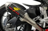 Cat Back Slip On Exhaust Carbon - For 17-19 Honda CBR1000RR