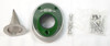 Open Box Spark Arrestor Exhaust End Cap - Green