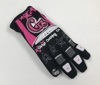 Girlyz Vision Women's MX Riding Glove - Pink & Black Large