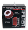 "Air Filter 2.625 in Tall - Cone Air Filter Short 3"", 3.5"", 4"" Red"