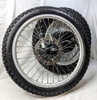 Used Front & Rear Wheels, Hubs, Brakes, Spokes, & Tires From 1985 Honda XL600R