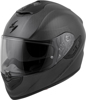 EXO-ST1400 Carbon Solid Helmet Matte Black Medium
