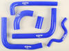 Radiator Hose Kit Blue - For 09-16 Kawasaki KX250F