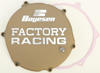 FACTORY RACING - CLUTCH COVER MAGNESIUM 93-02 Kawasaki KX250