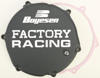 FACTORY RACING - CLUTCH COVER BLACK 93-02 Kawasaki KX250