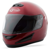 GM-38 Full-Face Helmet Candy Red 2X-Small