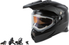 AT-21S Adventure Snow Helmet w/Electric Shield Black 2X-Large