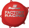 FACTORY RACING - CLUTCH COVER RED 10-17 Honda CRF250R
