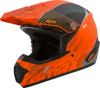 MX-46 Off-Road Colfax MX Helmet Matte Orange/Black X-Small