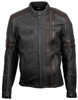 1909 Leather Vintage Riding Jacket 2X-Large