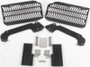 Aluminum Radiator Guard Black - For 07-11 Yamaha WR450F
