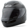 GM-49Y Full Face Solid Street Helmet Black Youth Large