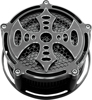 Ace's Wild Billet Air Cleaner Bad Axe Black - For 08-17 Harley