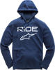 Ride 2.0 Pullover Hoodie Navy & White 2x-Large