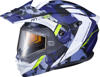 EXO-AT950 Outrigger Snow Helmet Blue Small