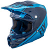 F2 Carbon Rewire Helmet Navy Blue/Light Blue 2X