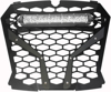 "Front Grill Black w/10"" Light - For 18-19 Polaris RZR"