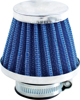 "Clamp On Air Filter - 38mm / 1.5"" Wire Mesh Long Cone"