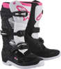 Tech 3 Stella Boots Black/White/Pink Size 6
