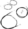 "Black Cable and Line Kit +2"" Bar - For 14-17 Yamaha Bolt"
