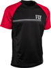 Action Jersey Black/Red Small