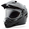 Gm-11S Dual-Sport Snow Helmet Black - Large