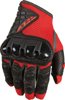Coolpro Force Riding Gloves Red/Black Large