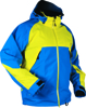 Intimidator Riding Jacket Yellow/Blue Small