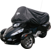 Can-Am Spyder Half Cover Black - For 10-16 Can-Am Spyder RT