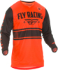 Kinetic Mesh ERA Jersey Neon Orange/Black Youth X-Large