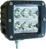 Dually D2 Led Light Wide Pattern (White) - Dually D2 LED Lights