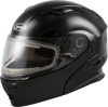 MD-01S Modular Snow Helmet w/Electric Shield Black X-Small