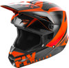 Elite Vigilant Helmet Orange/Black Youth Medium