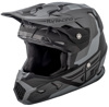 Toxin Original Helmet Matte Black/Grey Youth Large
