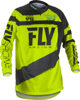 F-16 Jersey Black/Hi-Vis Youth Small