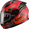 Youth Gm-49Y Alien Snow Helmet Red - Youth Small