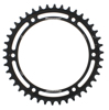 Steel Rear Sprocket 42T Black - For 97-16 Triumph