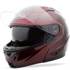 GM-64 Modular Motorcycle Helmet Wine Red X-Small