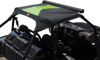 Bimini Top Black/Green - For 12-17 Arctic Cat Wildcat 1000 /X