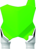 Front Number Plate Green/White - Kawasaki KX250F/450F